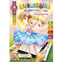 Kolorowanki, Kolorowanka A4/8 4D Księżniczka Lilly - Panta-Plast