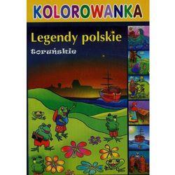 Legendy polskie toruńskie kolorowanka - Literat OD 24,99zł DARMOWA DOSTAWA KIOSK RUCHU