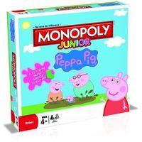 Gry dla dzieci, Gra Monopoly Junior Peppa Pig B93501200