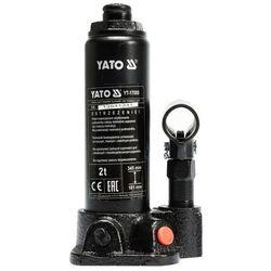 Podnośnik tłokowy hydrauliczny 2t tuv gs/ce Yato YT-17000 - ZYSKAJ RABAT 30 ZŁ