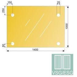 Szklo laminowane - hartowane do daszku GS/PR-R3 12