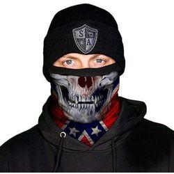 SA Co. Chusta Wielofunkcyjna Frost Tech™ Face Shield™ Rebel Skull - Rebel Skull