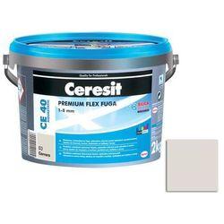 Fuga cementowa WODOODPORNA CE40 biały 2 kg CERESIT