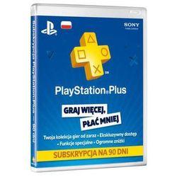 SONY PlayStation Plus Card 90 dni/POL PSN 90