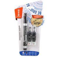 Markery, Marker permanentny + 2 ampułki czarny MemoBe