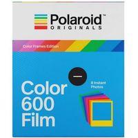 Pozostała fotografia, Polaroid Originals 600 Color wkład do aparatu Polaroid z kolorowymi ramkami
