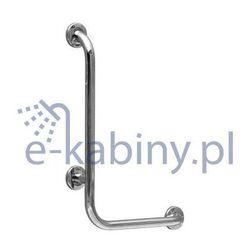 CERSANIT uchwyt ścienny do WC/prysznic 50 x 70 cm PION-POZIOM PRAWY K97-031