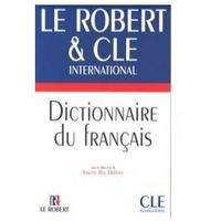 Książki do nauki języka, Dictionnaire du francais Robert & Cle - Rey-Debove Josette (opr. kartonowa)