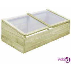 vidaXL Szklarnia, impregnowane drewno sosnowe, 100x50x35cm