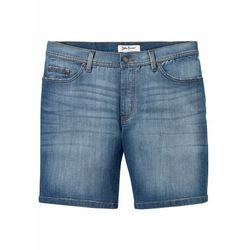 """Wygodne długie szorty dżinsowe ze stretchem Regular Fit bonprix niebieski """"stone"""