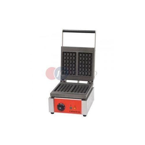 Gofrownice gastronomiczne, Gofrownica elektryczna pojedyncza z powłoką polimerową 1,9 kW Caterina 772324