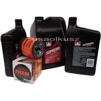 Oleje silnikowe, Olej 5W30 oraz filtr oleju silnika Chevrolet TrailBlazer 2003-2006