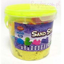 Piasek kinetyczny Sand Spirit Zwierzęta domowe żołty
