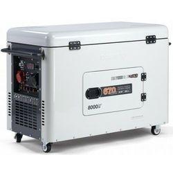 Agregat prądotwórczy DAEWOO DDAE 11000DSE-3 diesel 8kW wyciszony Dual Power