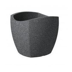 Donica Scheurich Wave Globe Cubo 50 czarny granit