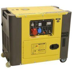 Generator prądowy 230/400 V, 6 KVA, diesel wyciszony- DG6500SE3