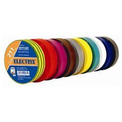 Taśma elektroizolacyjna PCV 211 19mm x 20 mb grubość: 0,13mm Niebieska