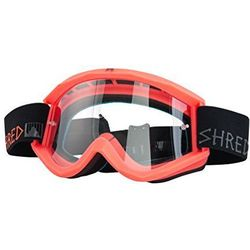 GOGLE BIKE/MOTOCROSS SHRED SOAZA POPSICLE NEON RUST S0