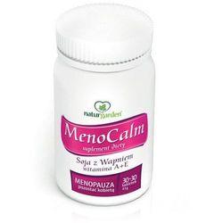MENOCALM Soja z Wapniem witamina A+E x 60 tabletek