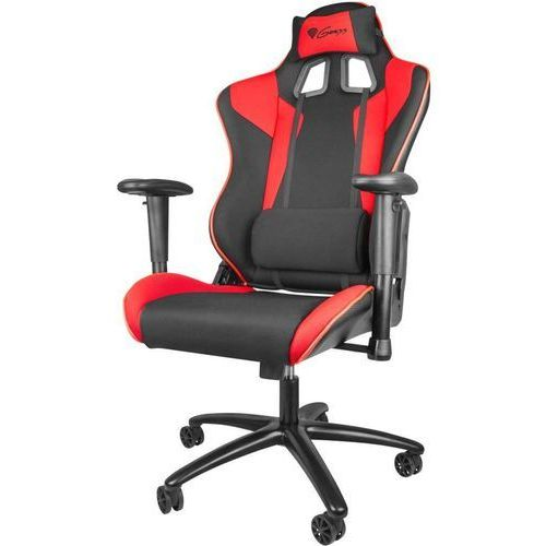 Fotele dla graczy, Krzesło dla graczy NATEC-GENESIS SX77 Czerwony