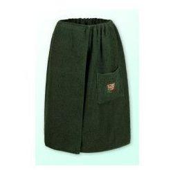 Sauna kilt ręcznik zieleń 100% bawełna damski 70*140 z logo