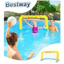 Dmuchana bramka do piłki wodnej + piłka Bestway