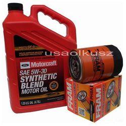 Oryginalny olej silnikowy Motorcraft 5W30 oraz filtr Mercury Mountaineer -2001