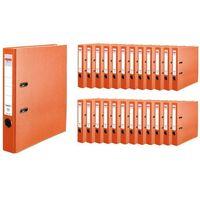 Segregatory, Segregator A4 5cm 50mm 25 sztuk Q.File HERLITZ - 5cm \ pomarańczowy