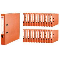 Segregator A4 5cm 50mm 25 sztuk Q.File HERLITZ - 5cm \ pomarańczowy