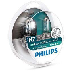 ZESTAW 2x Żarówka samochodowa Philips X-TREMEVISION 12972XV+S2 H7 PX26d/55W/12V