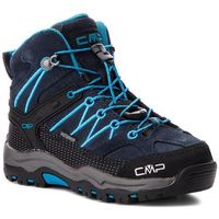 Kozaki dziecięce, Trekkingi CMP - Kids Rigel Mid Trekking Shoes Wp 3Q12944 Asphalt/Cyano 92BH