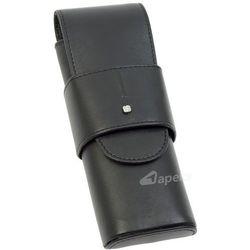 Samsonite Slim Light 144-516-01 etui skórzane na długopisy / pióra - czarny