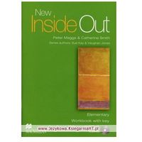 Książki do nauki języka, Inside Out New Elementary WB with key MACMILLAN - Sue Kay, Vaughan Jones (opr. miękka)