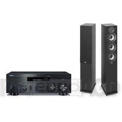 Yamaha MusicCast R-N602 (czarny), Elac Debut 2.0 F5.2 (czarny)