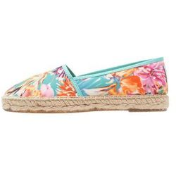 Natural World CAMPING ALTO Espadryle azul franc
