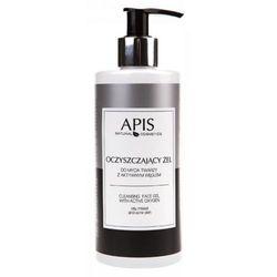 Apis CLEANSING FACE GEL WITH ACTIVE CARBON Oczyszczający żel do mycia twarzy z aktywnym węglem (53605)
