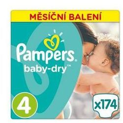 Pieluszki Pampers Active Baby Monthy Box S4 174 szt.