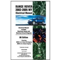 Range Rover 2002-2005 MY Electrical Manual UK Edition
