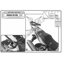 Stelaże motocyklowe, Stelaż pod kufer centralny do Honda CB1300 [03-09] - Givi 259FZ (zgodny z Kappa KZ259)