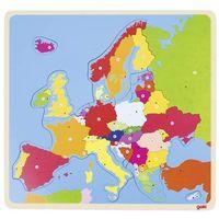 Pozostałe zabawki edukacyjne, Mapa Europy