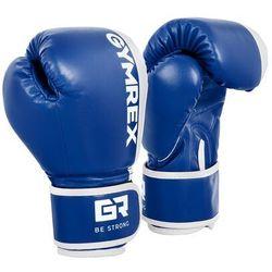 Rękawice bokserskie dla dzieci - biało-niebieskie - 6 oz