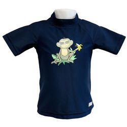 Koszulka kąpielowa bluzka dzieci 84cm filtrem UV50+ - Navy Jungle \ 84cm