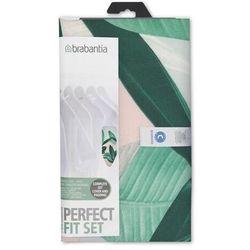 Brabantia - pokrowiec na deskę do prasowania 124 x 45cm - pianka 4mm + filc 4mm - wielokolorowy