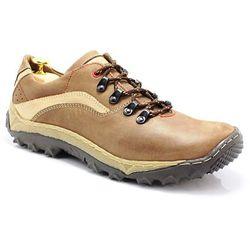 KENT 268 BRĄZ - Polskie buty trekkingowe, skóra - Brązowy ||Beżowy WYPRZEDAŻ -20% 3 (-20%)