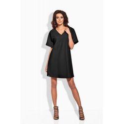 L140 czarna sukienka