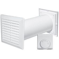 Kompletny ZESTAW wentylacyjny DGP 4w1 z termostatem Awenta Cosy Move CM100