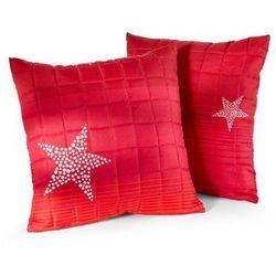 """Narzuta na sofę """"Gwiazdy"""" bonprix czerwony"""