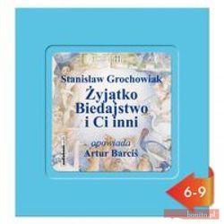 Żyjątko Biedajstwo i Ci inni. Książka audio CD MP3 (opr. miękka)