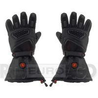 Rękawice motocyklowe, GLOVII Ogrzewane rękawice motocyklowe L (czarny)