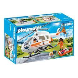 Playmobil City Life: Helikopter ratowniczy (70048). Wiek: 4+